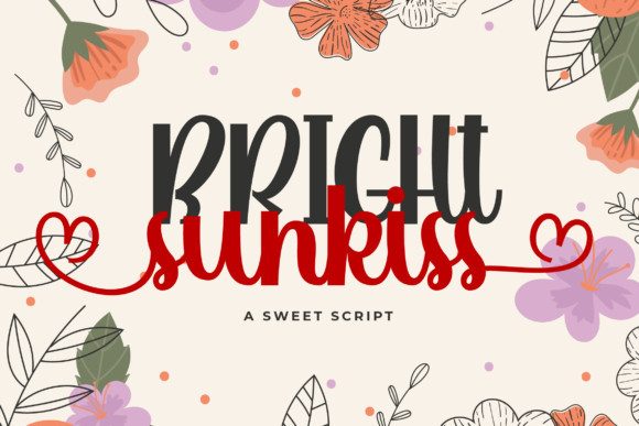 Bright Sunkiss Font