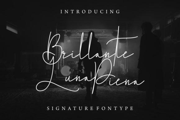 Brillante Luna Piena Font