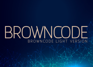 Browncode Light Font