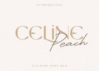 Celine Peach Font