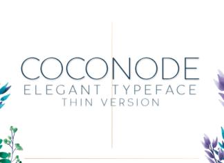 Coconode Thin Font