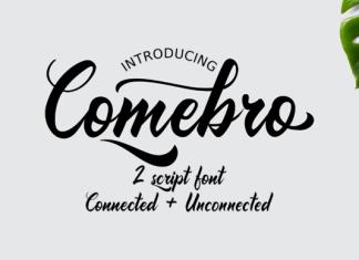 Comebro Font