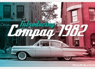 Compaq 1980 Font