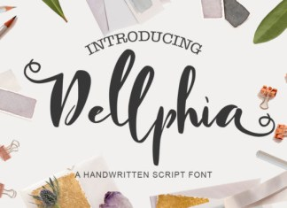 Dellphia Font