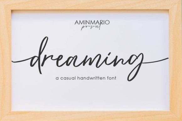 Dreaming Font