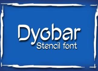 Dyobar Font