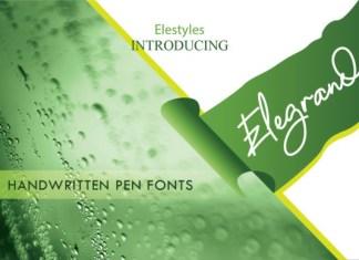 Elegrand Font