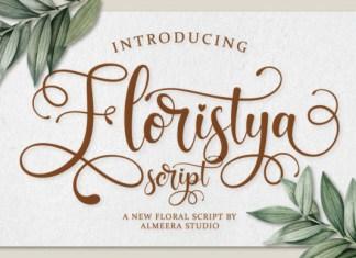 Floristya Font