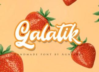 Galatik Font