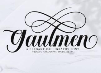 Gaulmen Font