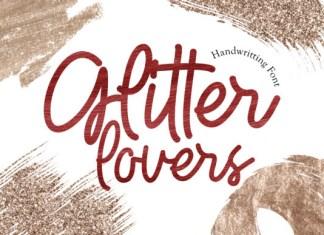 Glitter Lovers Font