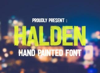 Halden Font