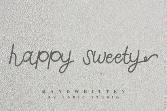 Happy Sweety Font