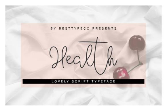 Health Font