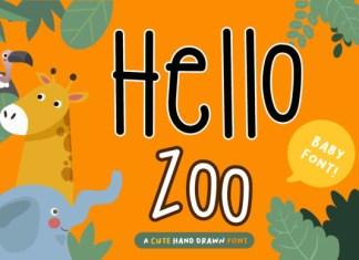 Hello Zoo Font