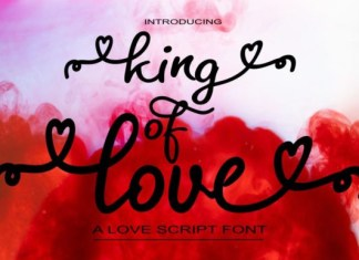 King of Love Font