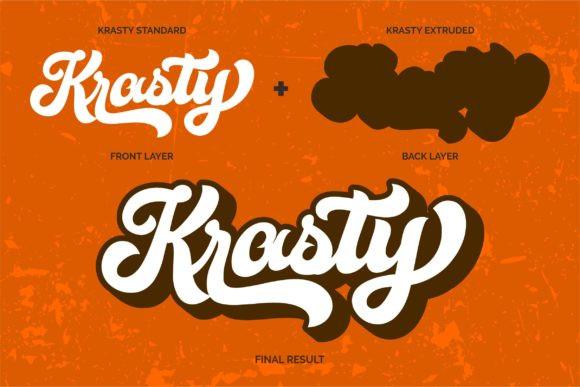 Krasty Font