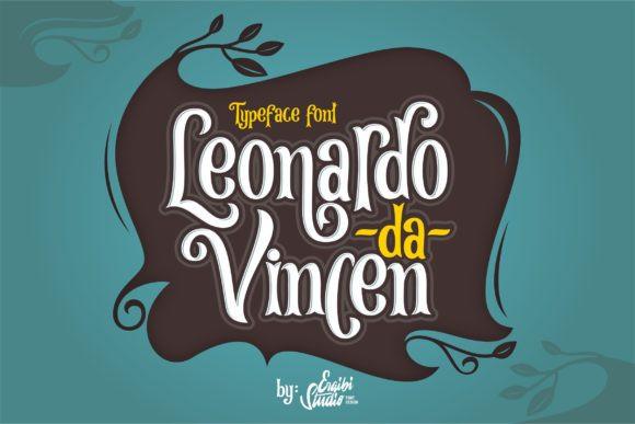 Leonardo Da Vincen Font