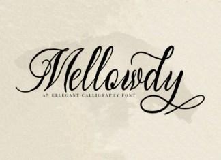 Mellowdy Font