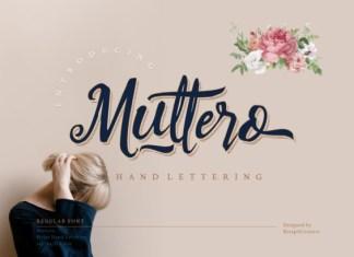 Muttero Font