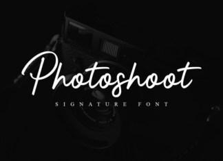 Photoshoot Font