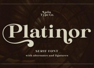 Platinor Font