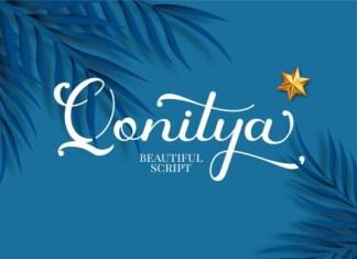 Qonitya Font