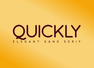 Quickly Regular Font