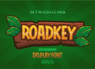 Roadkey Font