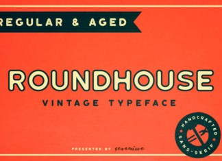 Roundhouse Font