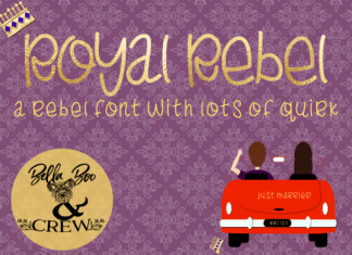 Royal Rebel Font