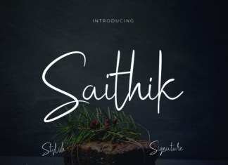 Saithik Font