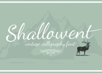 Shallowent Font