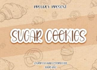 Sugar Cookies Font