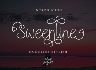 Sweenline Font