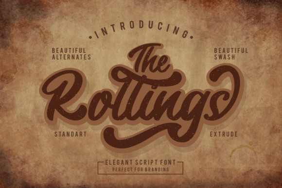 The Rollings Font