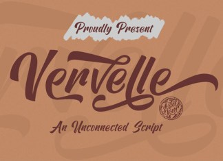 Vervelle Font