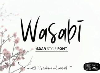 Wasabi Font