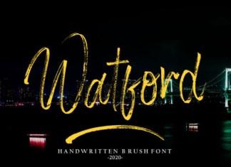 Watford Font