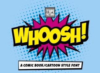 Whoosh Font