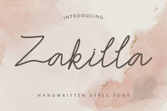 Zakilla Font