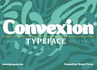 Convexion Font