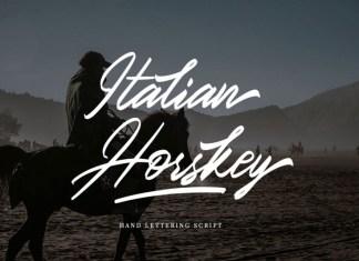 Italian Horskey Font