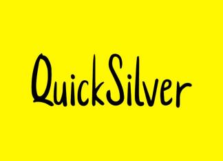QuickSilver Font
