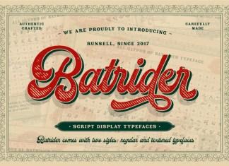 Batrider Font