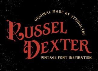 Russel Dexter Font