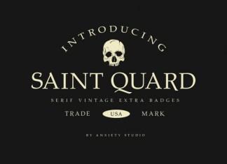 Saint Quard Font