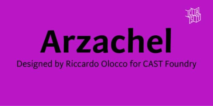 Arzachel Font