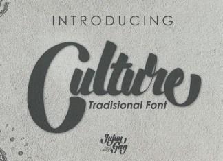 Culture Font