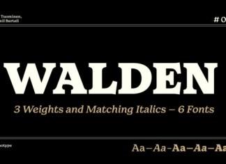 Walden Font